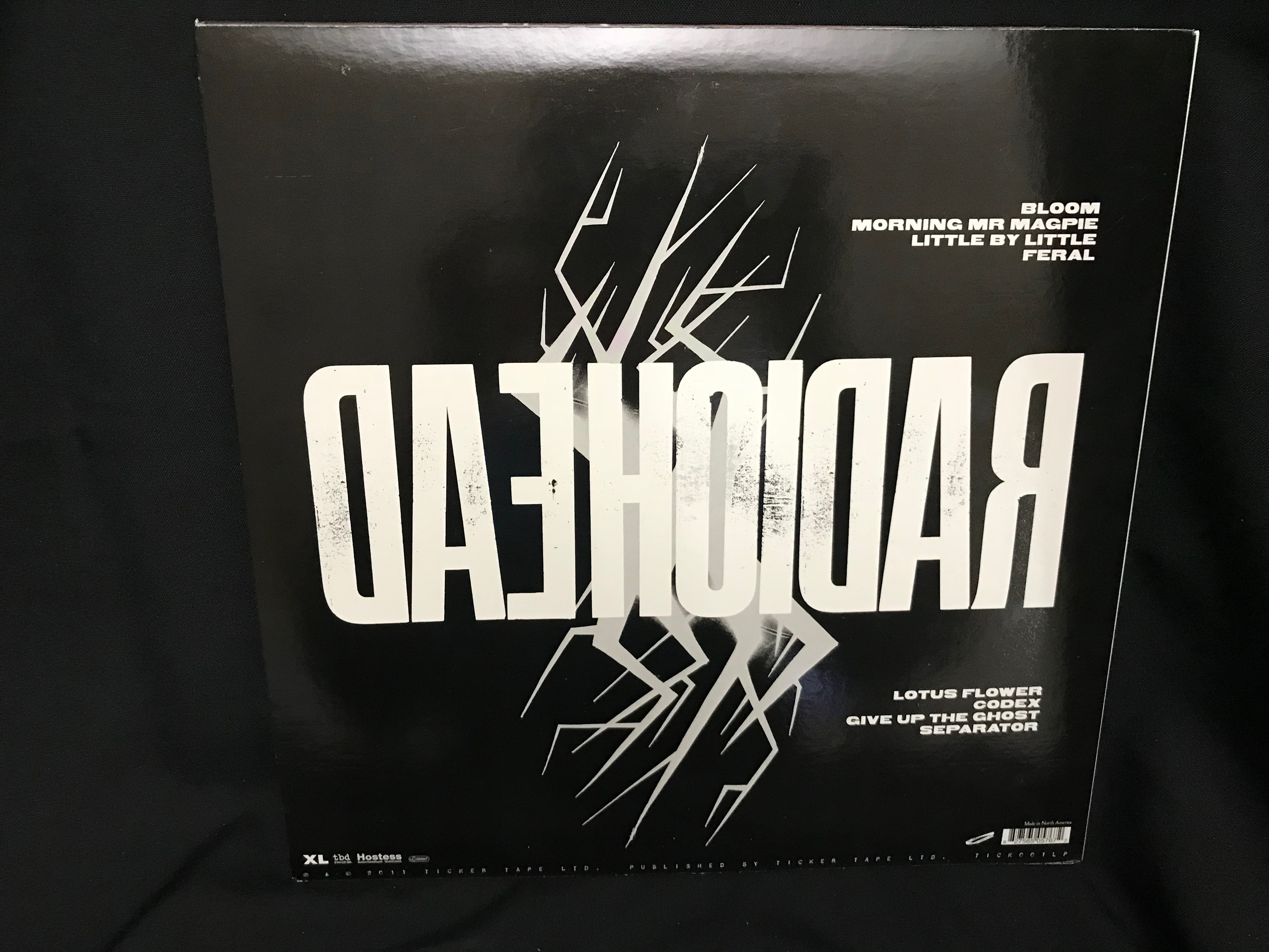 Radiohead The King Of Limbs Lp Album Eclectic Sounds