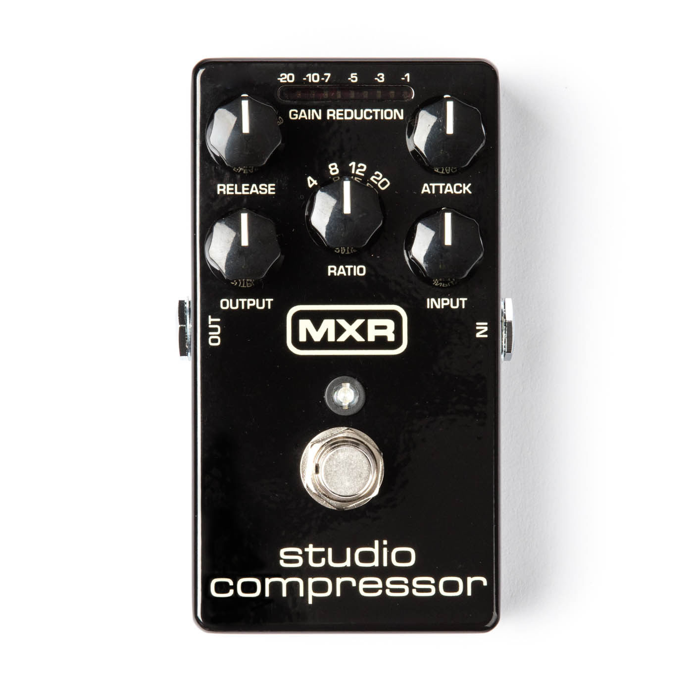 new dunlop mxr m76 studio compressor la 2a 1176 compression effects pedal ebay. Black Bedroom Furniture Sets. Home Design Ideas