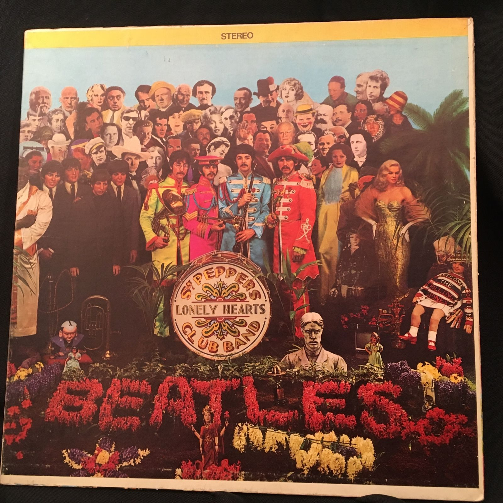 The Beatles - Sgt  Pepper's LP NM 1967 SMAS 2653 Jacksonville Press