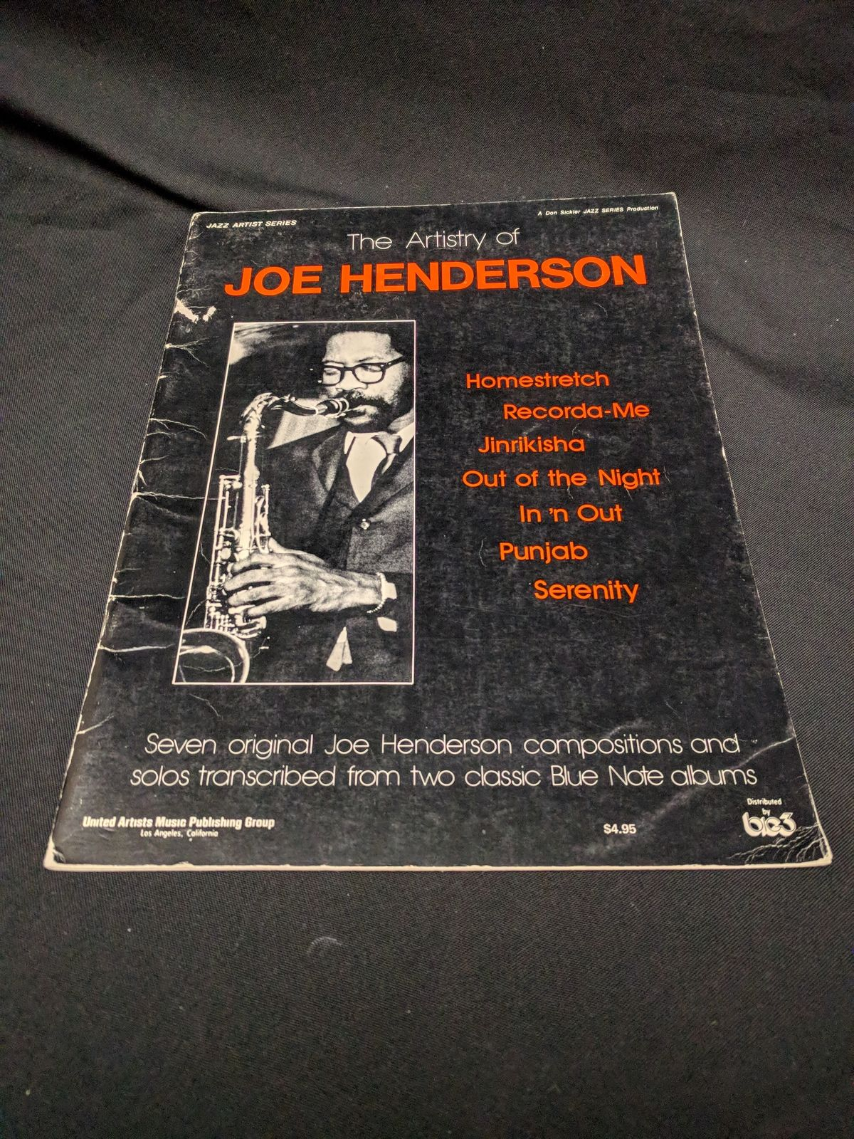 The Artistry of Joe Henderson Blue Note Tenor Sax Transcriptions