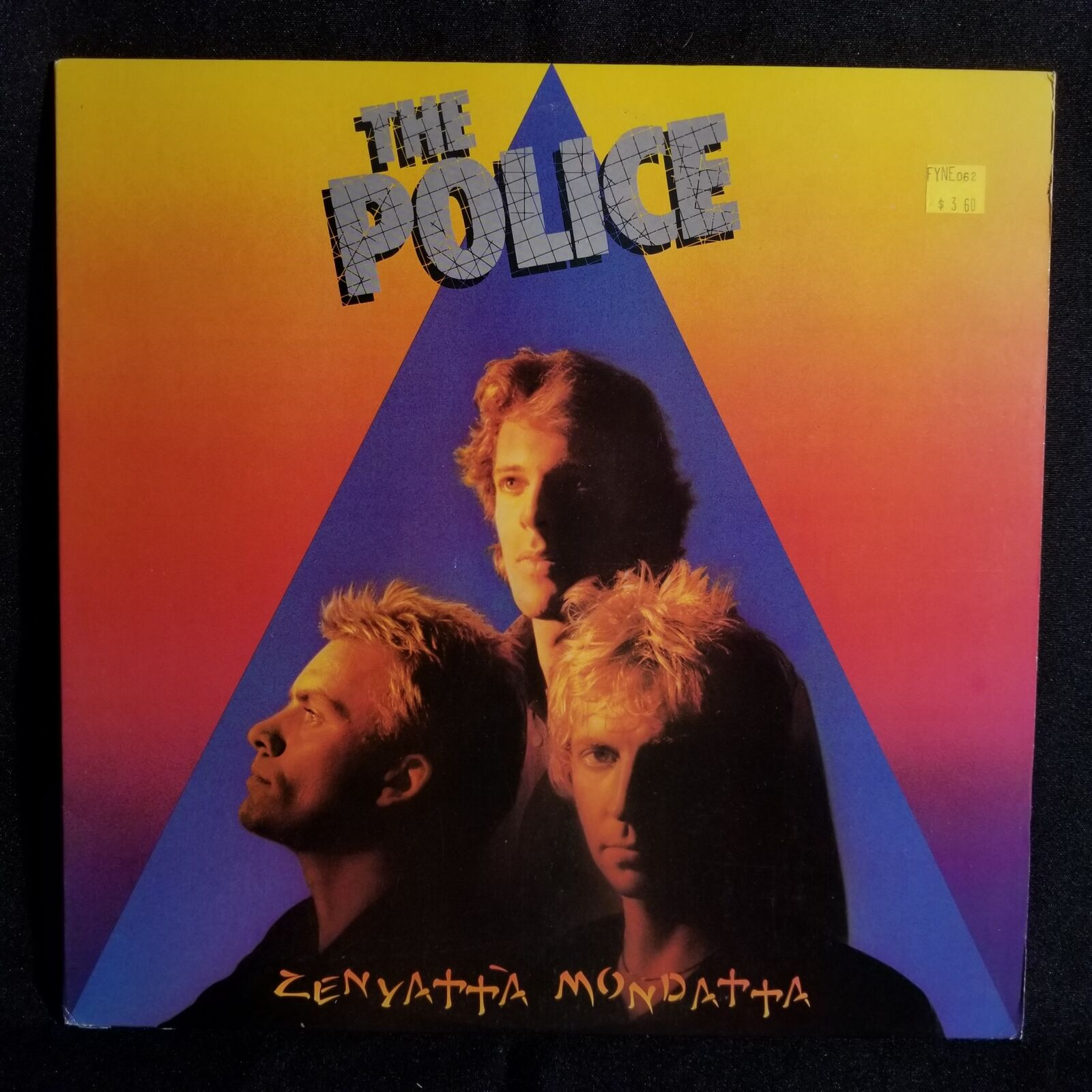 The Police Zenyatta Mondatta Lp Nm M Rare Club Edition