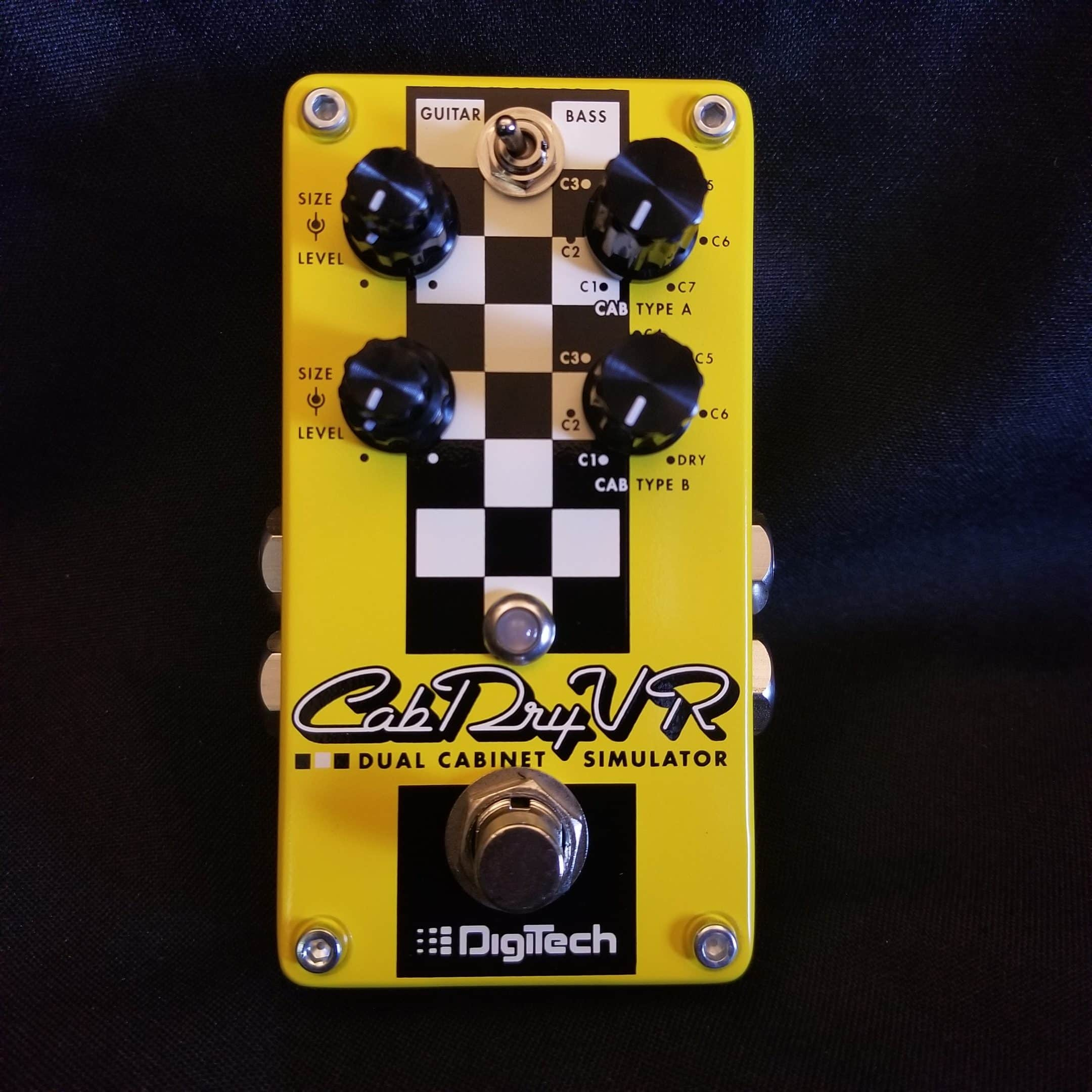 new digitech cabdryvr dual cabinet simulator guitar effects fx pedal stompbox eclectic sounds. Black Bedroom Furniture Sets. Home Design Ideas