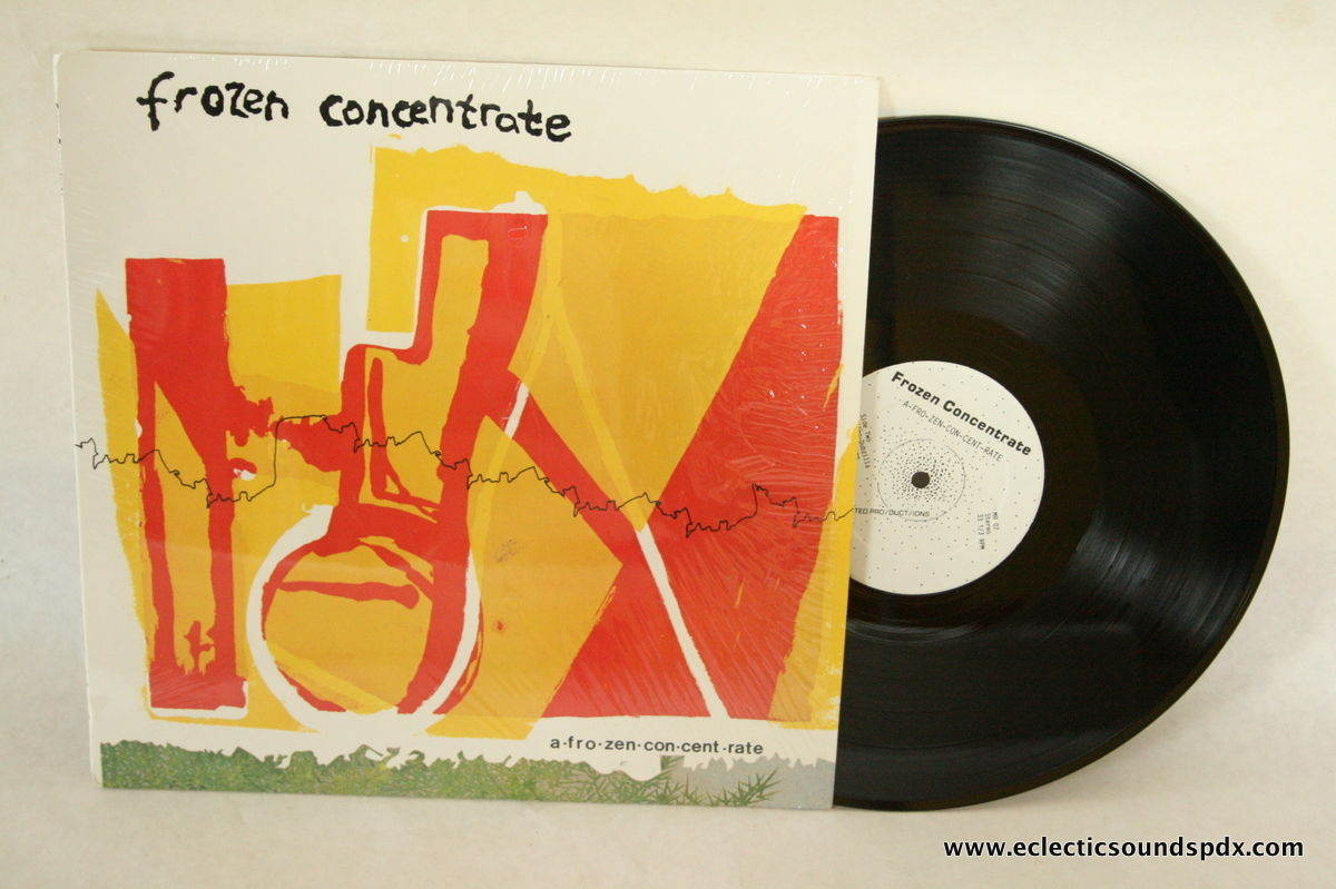 Frozen Concentrate LP Near Mint Private Press Afrobeat Dance Rock 1985 IN  SHRINK