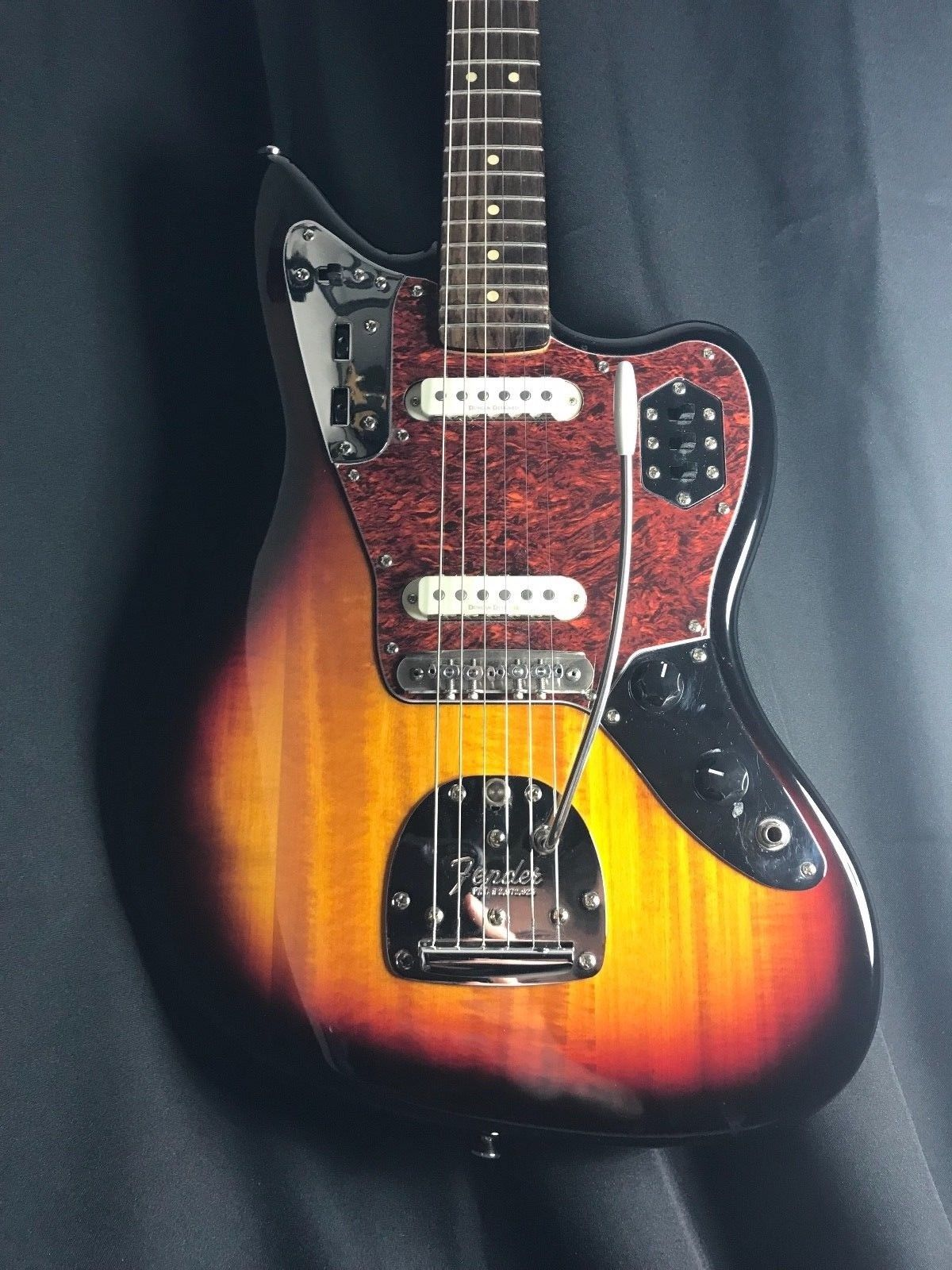 fender jaguar squire modified offset mastery bridge upgraded electric guitar eclectic sounds