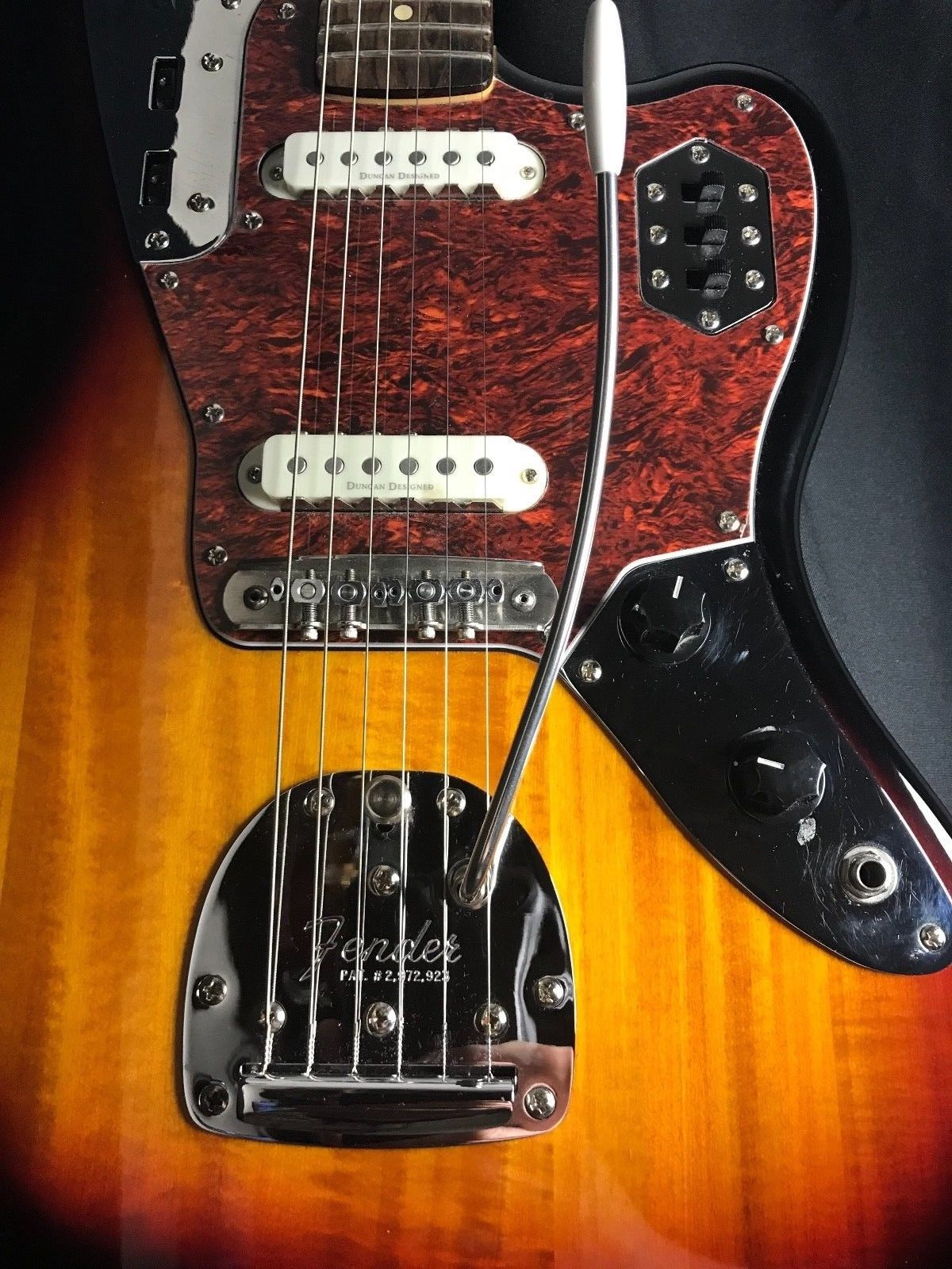 fender guitars storybook jaguar description sunburst guitar thumb