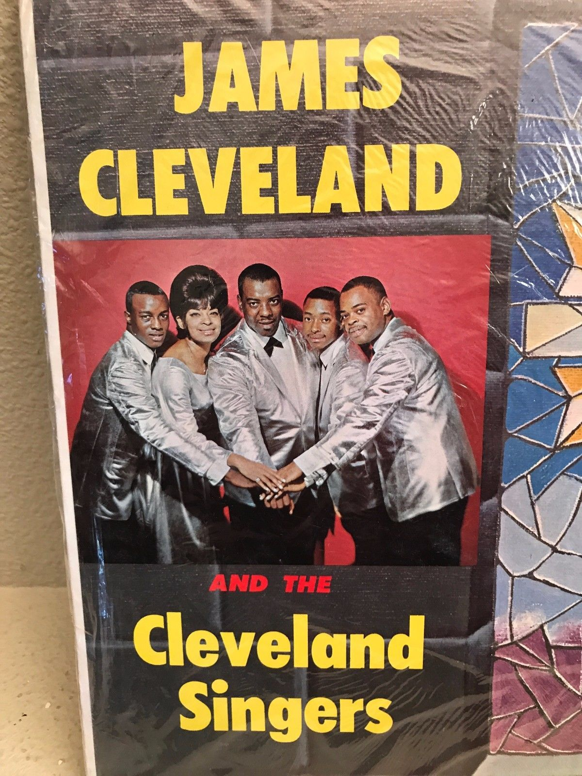 James Cleveland and the Cleveland Singers LP Savoy MG-14188 Funk Soul  Gospel '67